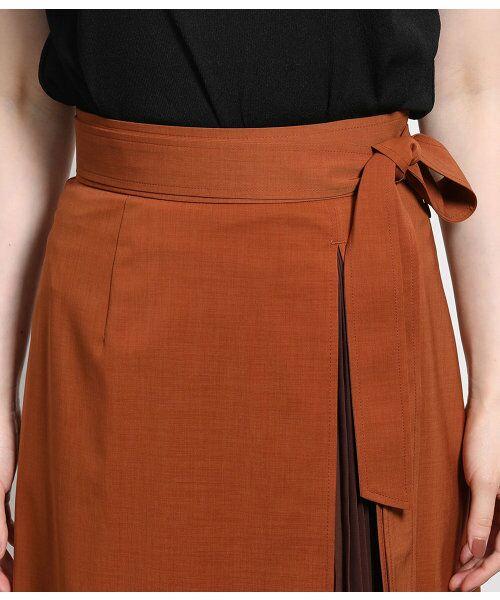 ROPE' / ロペ スカート | ポリキュプラメランジプリーツスカート | 詳細5