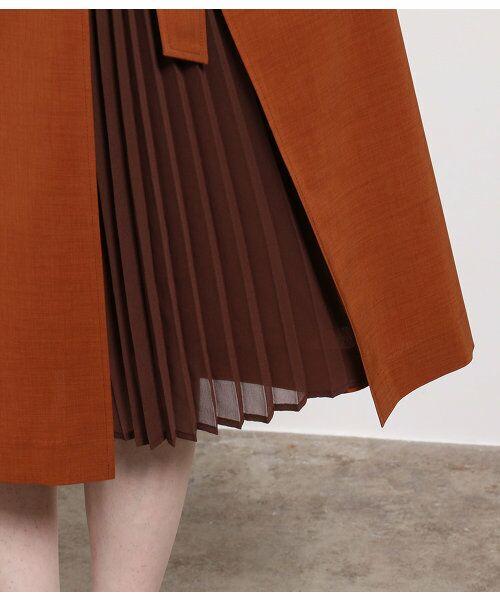 ROPE' / ロペ スカート | ポリキュプラメランジプリーツスカート | 詳細6