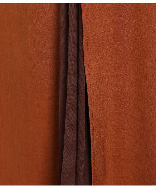 ROPE' / ロペ スカート | ポリキュプラメランジプリーツスカート | 詳細7