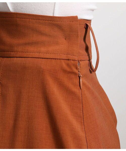 ROPE' / ロペ スカート | ポリキュプラメランジプリーツスカート | 詳細9
