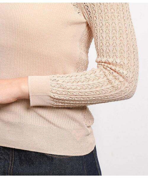 ROPE' / ロペ ニット・セーター | 透かし編みリブニット | 詳細10
