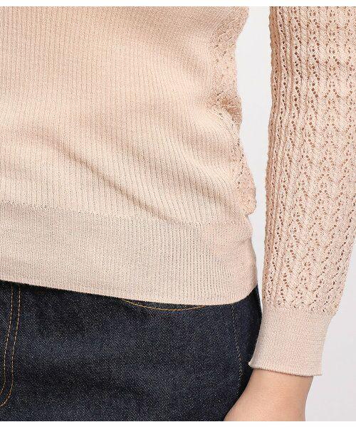 ROPE' / ロペ ニット・セーター | 透かし編みリブニット | 詳細11