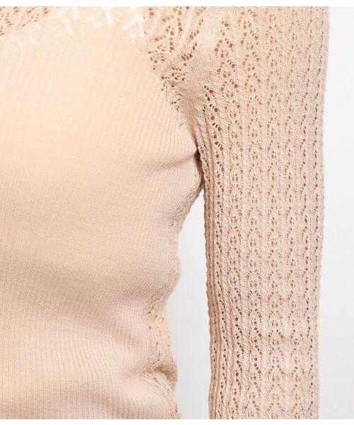 ROPE' / ロペ ニット・セーター | 透かし編みリブニット | 詳細12