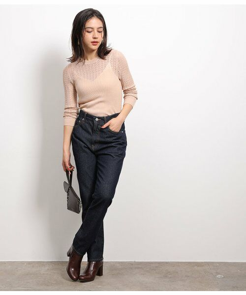 ROPE' / ロペ ニット・セーター | 透かし編みリブニット | 詳細6