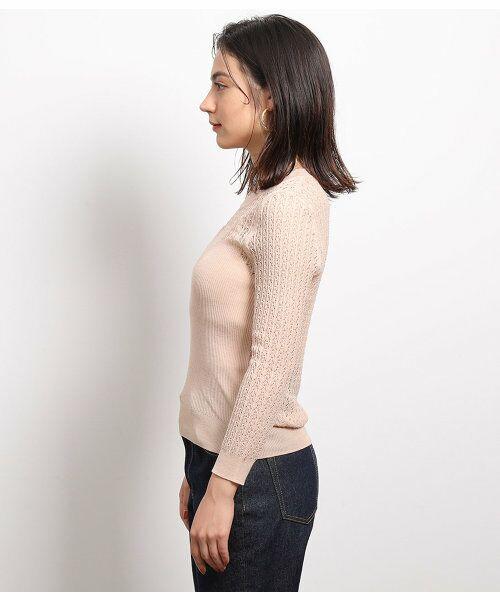 ROPE' / ロペ ニット・セーター | 透かし編みリブニット | 詳細7