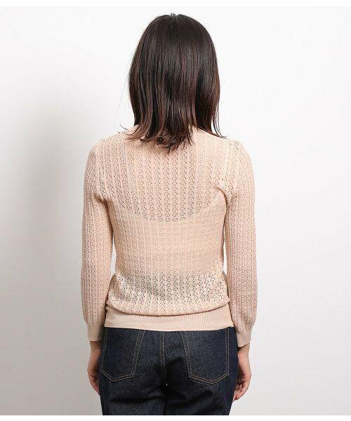 ROPE' / ロペ ニット・セーター | 透かし編みリブニット | 詳細8