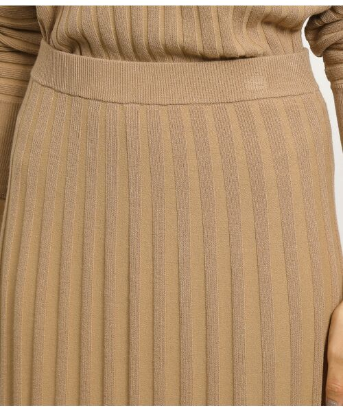 ROPE' / ロペ スカート | 【セットアップ対応】ワイドリブマーメイドニットスカート | 詳細11