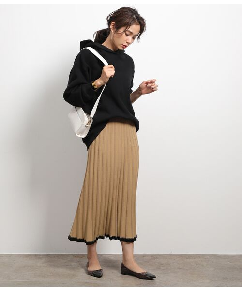 ROPE' / ロペ スカート | 【セットアップ対応】ワイドリブマーメイドニットスカート | 詳細5