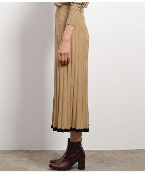 ROPE' / ロペ スカート | 【セットアップ対応】ワイドリブマーメイドニットスカート | 詳細8