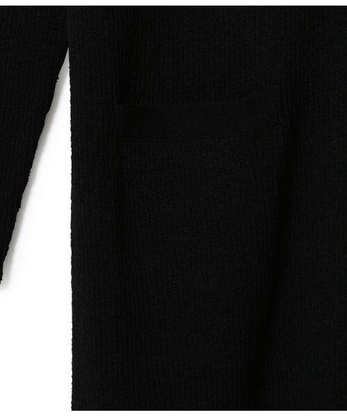ROPE' / ロペ カーディガン・ボレロ | ギマブークレーリブロングカーディガン | 詳細8