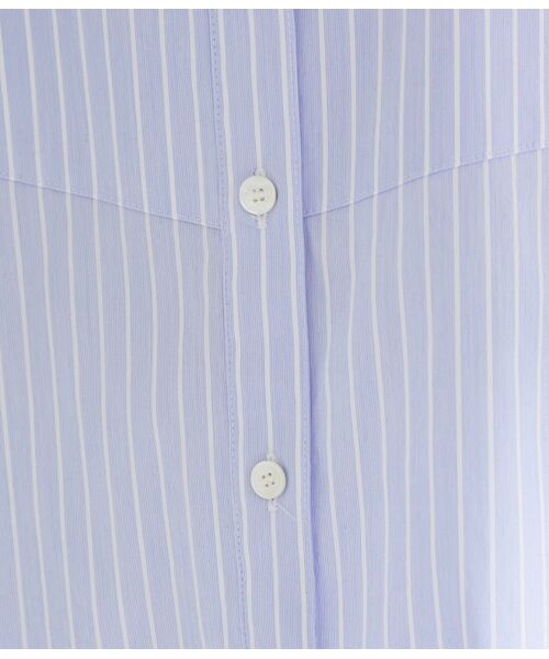 ROPE' / ロペ シャツ・ブラウス | 【ドラマ着用】【洗える】【21SS】ハイパワーブロードボザムチュニックノーカラーシャツ | 詳細12