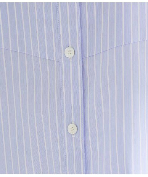 ROPE' / ロペ シャツ・ブラウス | 【ドラマ着用】【洗える】【21SS】ハイパワーブロードボザムチュニックノーカラーシャツ | 詳細29