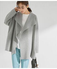 <b>アウターのように着られるソフトカーディガン</b></br></br>【デザイン・シルエット】<br>ドロップショルダーで羽織りとしてアウター感覚で着られるようにデザイン。ニットのダレ感を無くすために張りの出る糸を入れ衿まわりがきまるようにフォルムに拘った便利羽織り。<br>ソフトで着心地が良く、シーズンレスで真夏以外は着られる万能アイテム。今シーズンらしくヒップくらいのショート丈。スカートからパンツまで幅広いシーンで活躍。<br><br>【カラー】<br>何にでも合わせやすいメランジベージュとメランジライトグレー。<br><br>【おすすめのスタイリング】<br>2021年春夏シーズンおすすめのストレッチ2WAYやデニムのハイライズスリムフレアーパンツなどと合わせるとモダンな印象に。<br>フレアー系スカートプリーツなどとの相性も◎<br><br>------------------------------<br>透け感:なし<br>裏地:なし<br>伸縮性:あり<br>光沢感:なし<br>生地の厚さ:中肉<br>ポケット:あり<br>------------------------------<br>モデル身長:167cm 着用サイズ:38<br><br>※画像の商品はサンプルです。 実際の商品と仕様、加工、サイズが若干異なる場合がございます。<br><br>※室外で撮影している画像は、光の影響で色味が若干異なって見える場合がございます。<br><br>※商品の入荷状況は、店舗までお問い合わせをお願いいたします。<br><br>店舗での商品のお取り扱いについて<br>ROPE'の商品は、ROPE'実店舗のみの取り扱いになります。<br>また、MADEMOISELLE ROPE' の商品は、MADEMOISELLE ROPE'実店舗のみの取り扱いになります。</br></br>手洗い・漂白、タンブル乾燥禁止