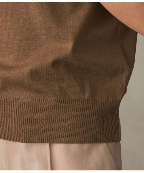 ROPE' / ロペ ニット・セーター | 【洗える】【アンサンブル対応】ウォッシャブル天竺モックネックニット | 詳細11