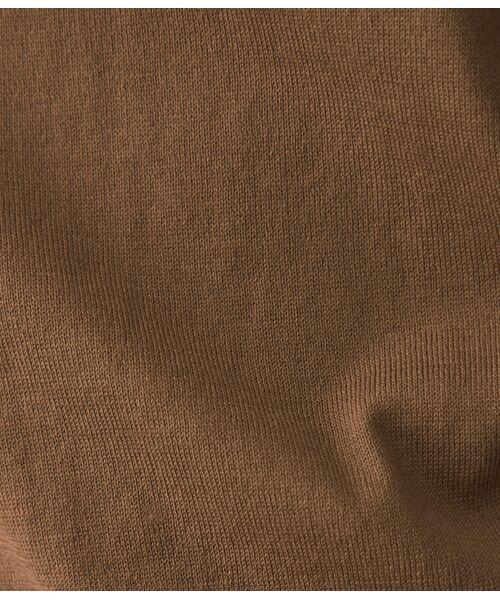 ROPE' / ロペ ニット・セーター | 【洗える】【アンサンブル対応】ウォッシャブル天竺モックネックニット | 詳細12
