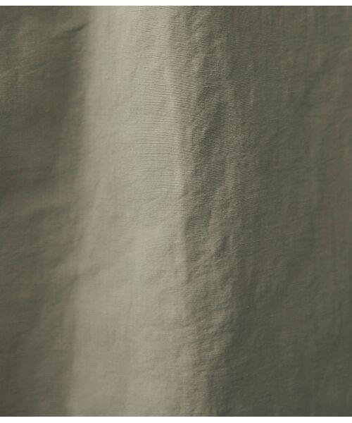 ROPE' / ロペ トレンチコート   【ドラマ着用】【軽量】麻コットンフォルムトレンチコート   詳細14