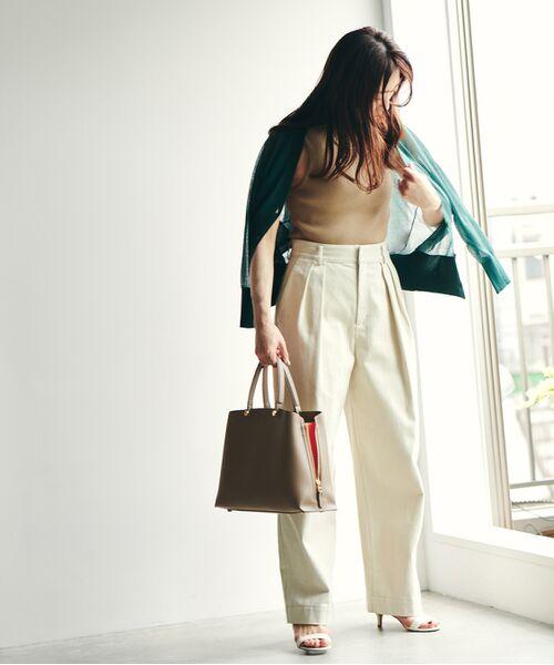 ROPE' / ロペ ハンドバッグ | 【新色追加】【E'POR】Y bag Medium (サイドジップトートバッグ) | 詳細11