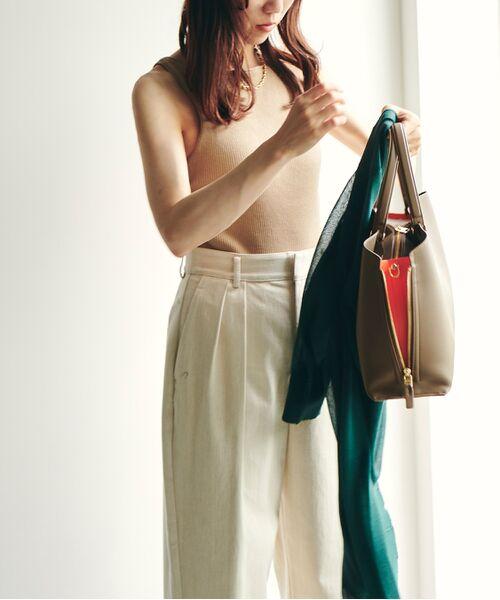 ROPE' / ロペ ハンドバッグ | 【新色追加】【E'POR】Y bag Medium (サイドジップトートバッグ) | 詳細12