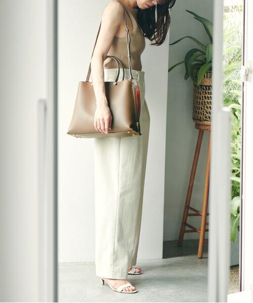 ROPE' / ロペ ハンドバッグ | 【新色追加】【E'POR】Y bag Medium (サイドジップトートバッグ) | 詳細4