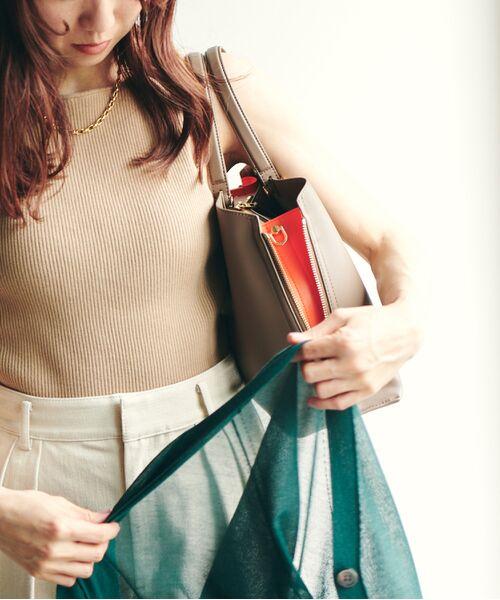 ROPE' / ロペ ハンドバッグ | 【新色追加】【E'POR】Y bag Medium (サイドジップトートバッグ) | 詳細5
