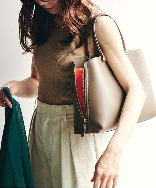 ROPE' / ロペ ハンドバッグ | 【新色追加】【E'POR】Y bag Medium (サイドジップトートバッグ) | 詳細6