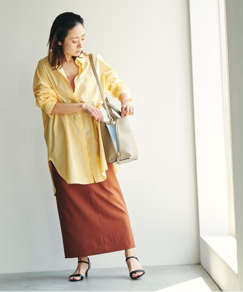 ROPE' / ロペ ハンドバッグ | 【新色追加】【E'POR】Y bag Medium (サイドジップトートバッグ) | 詳細7