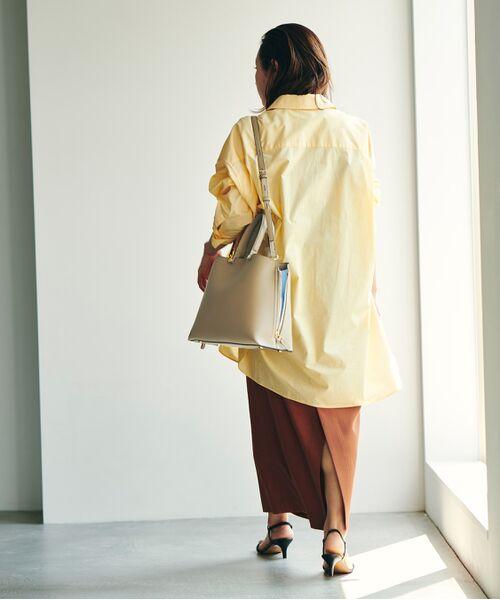 ROPE' / ロペ ハンドバッグ | 【新色追加】【E'POR】Y bag Medium (サイドジップトートバッグ) | 詳細8