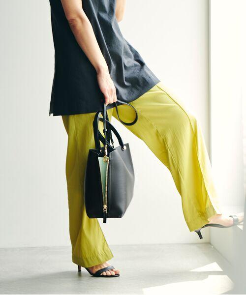 ROPE' / ロペ ハンドバッグ | 【新色追加】【E'POR】Y bag Medium (サイドジップトートバッグ) | 詳細9