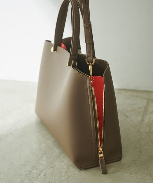 ROPE' / ロペ ハンドバッグ | 【新色追加】【E'POR】Y bag Medium (サイドジップトートバッグ) | 詳細24