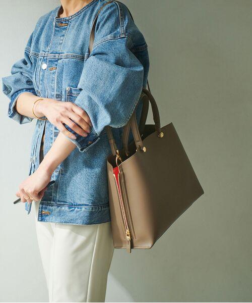 ROPE' / ロペ ハンドバッグ | 【新色追加】【E'POR】Y bag Medium (サイドジップトートバッグ) | 詳細13