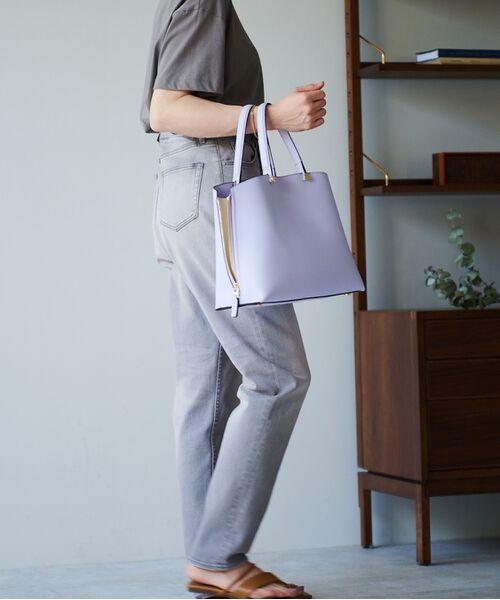ROPE' / ロペ ハンドバッグ | 【新色追加】【E'POR】Y bag Medium (サイドジップトートバッグ) | 詳細16