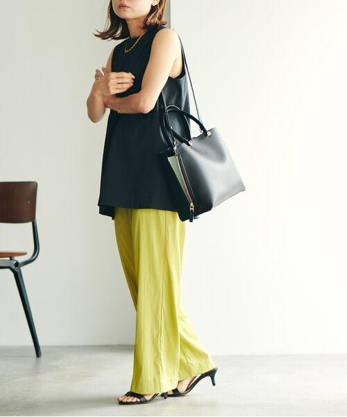 ROPE' / ロペ ハンドバッグ | 【E'POR】【一部WEB限定】Y bag Medium (サイドジップトートバッグ) | 詳細14