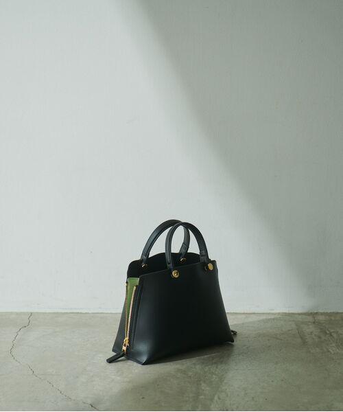 ROPE' / ロペ ハンドバッグ | 【E'POR】【一部WEB限定】Y bag Mini(サイドジップミニショルダーバッグ)(ブラック(01))