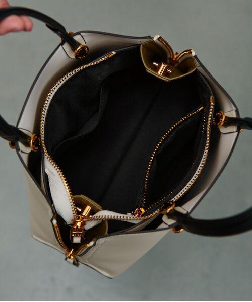 ROPE' / ロペ ハンドバッグ | 【新色追加】【E'POR】Y bag Mini(サイドジップミニショルダーバッグ) | 詳細25