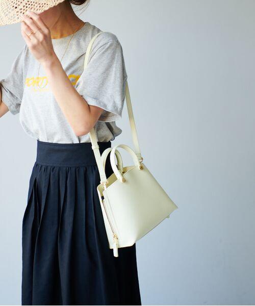 ROPE' / ロペ ハンドバッグ | 【新色追加】【E'POR】Y bag Mini(サイドジップミニショルダーバッグ) | 詳細26