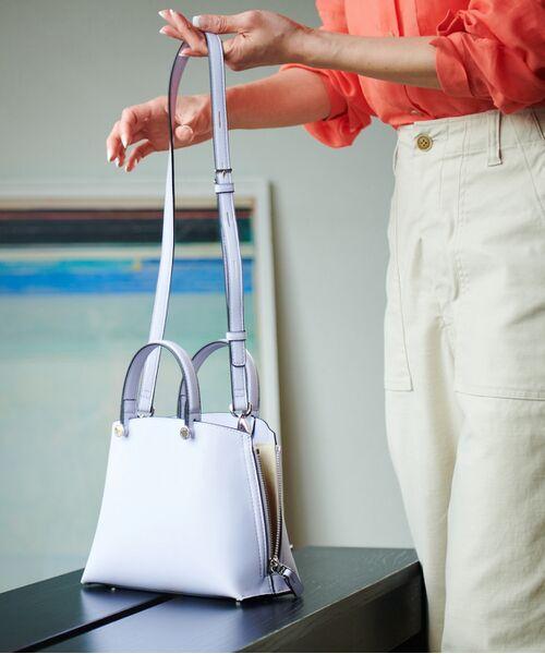 ROPE' / ロペ ハンドバッグ | 【新色追加】【E'POR】Y bag Mini(サイドジップミニショルダーバッグ) | 詳細27