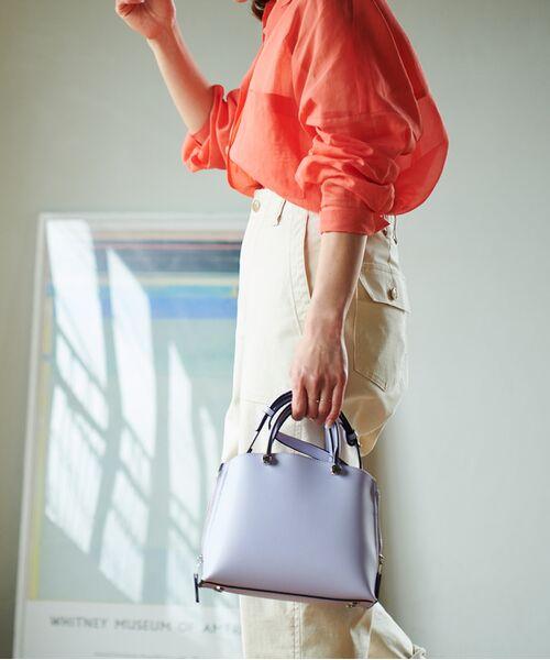 ROPE' / ロペ ハンドバッグ | 【新色追加】【E'POR】Y bag Mini(サイドジップミニショルダーバッグ) | 詳細12