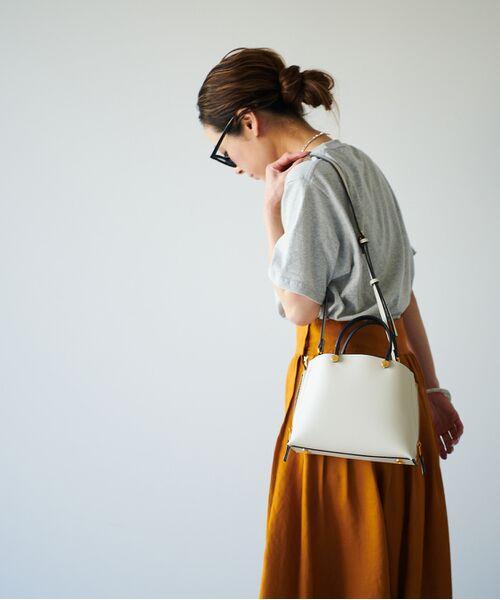 ROPE' / ロペ ハンドバッグ | 【新色追加】【E'POR】Y bag Mini(サイドジップミニショルダーバッグ) | 詳細13