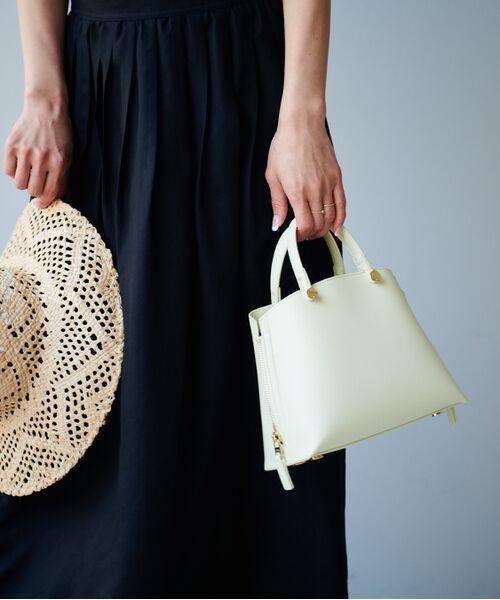 ROPE' / ロペ ハンドバッグ | 【新色追加】【E'POR】Y bag Mini(サイドジップミニショルダーバッグ) | 詳細14