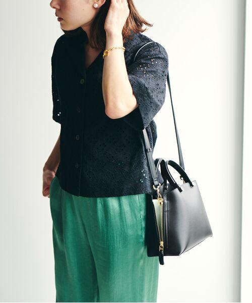 ROPE' / ロペ ハンドバッグ | 【E'POR】【一部WEB限定】Y bag Mini(サイドジップミニショルダーバッグ) | 詳細30
