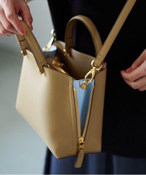 ROPE' / ロペ ハンドバッグ | 【E'POR】【一部WEB限定】Y bag Mini(サイドジップミニショルダーバッグ)(ベージュ(27))