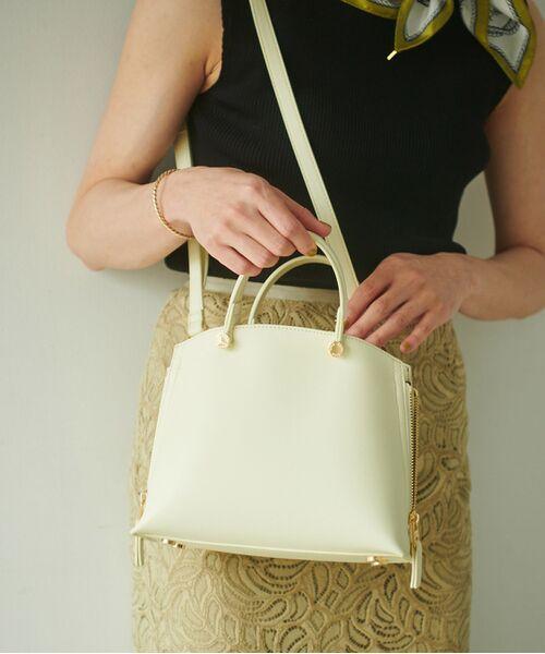 ROPE' / ロペ ハンドバッグ | 【E'POR】【一部WEB限定】Y bag Mini(サイドジップミニショルダーバッグ)(イエロー(80))