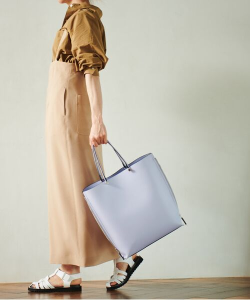 ROPE' / ロペ トートバッグ | 【新色追加】【E'POR】【A4対応】Y bag Large(サイドジップ縦型トートバッグ) | 詳細1