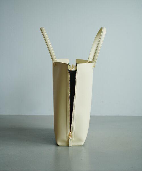 ROPE' / ロペ トートバッグ | 【新色追加】【E'POR】【A4対応】Y bag Large(サイドジップ縦型トートバッグ) | 詳細10