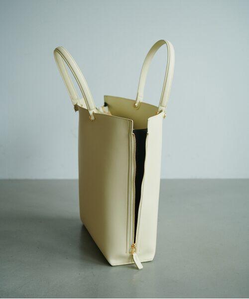 ROPE' / ロペ トートバッグ | 【新色追加】【E'POR】【A4対応】Y bag Large(サイドジップ縦型トートバッグ) | 詳細11