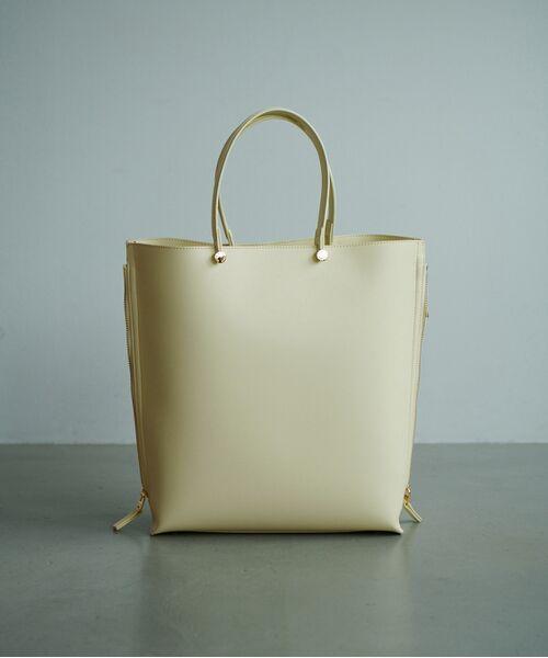 ROPE' / ロペ トートバッグ | 【新色追加】【E'POR】【A4対応】Y bag Large(サイドジップ縦型トートバッグ) | 詳細12
