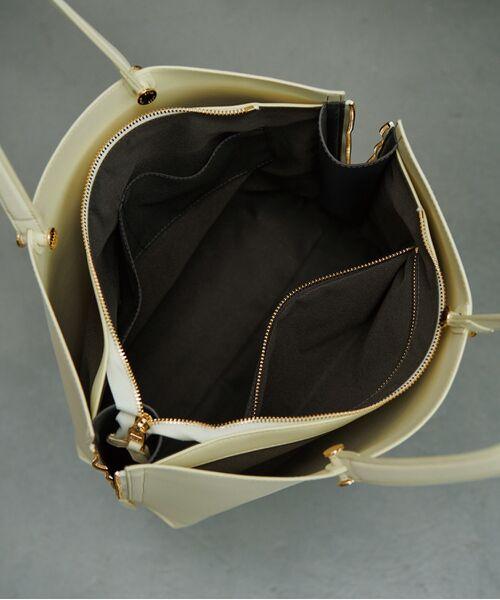 ROPE' / ロペ トートバッグ | 【新色追加】【E'POR】【A4対応】Y bag Large(サイドジップ縦型トートバッグ) | 詳細13