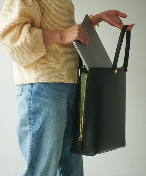 ROPE' / ロペ トートバッグ | 【新色追加】【E'POR】【A4対応】Y bag Large(サイドジップ縦型トートバッグ) | 詳細14