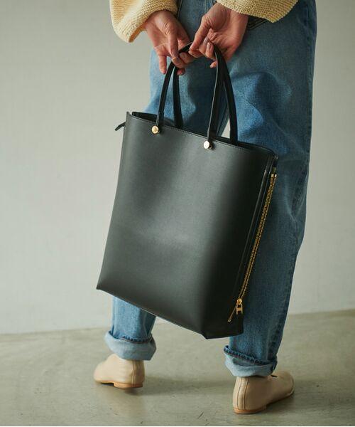 ROPE' / ロペ トートバッグ | 【新色追加】【E'POR】【A4対応】Y bag Large(サイドジップ縦型トートバッグ) | 詳細15