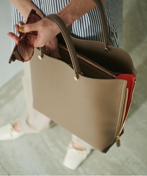 ROPE' / ロペ トートバッグ | 【新色追加】【E'POR】【A4対応】Y bag Large(サイドジップ縦型トートバッグ) | 詳細17